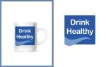 logo design of Drink Healthy campaign